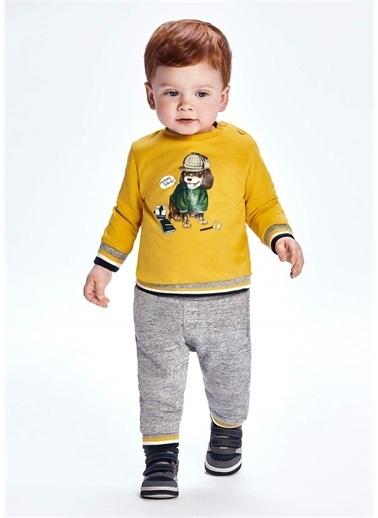 Mayoral Mayoral Erkek Bebek Iki Altlı Eşofman Takım Sarı